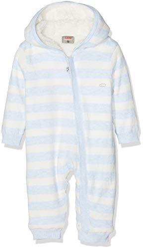 Kanz Kanz Baby-Jungen Overall m. Kapuze Schneeanzug, Blau (y/d Stripe|Multicolored 0001), 56