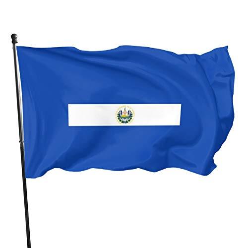 Bandera de El Salvador, banderas de bandera de El Salvador, 3 x 5 pies