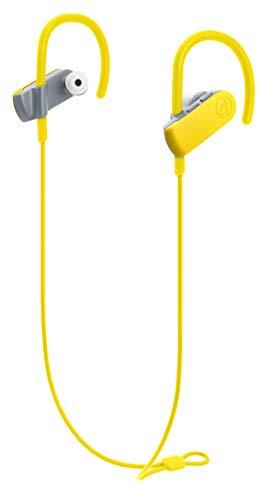 audio-technica SONICSPORT ワイヤレスイヤホン 防水/スポーツ向け Bluetooth リモコン/マイク付 バタフライイエロー ATH-SPORT50BT YL