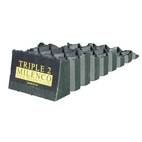 Milenco 2936 Triple Caravan Levelling Ramp Set, 24.0 cm*61.0 cm*18.0