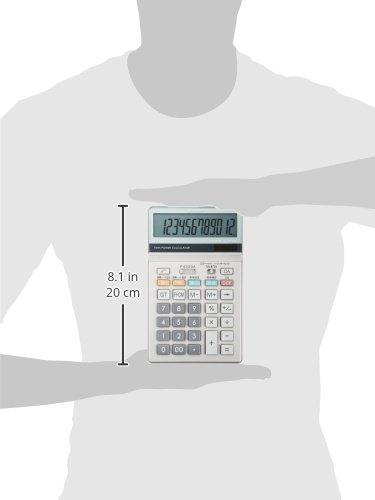 シャープ実務電卓グリーン購入法適合モデルナイスサイズタイプ12桁EL-N732KX
