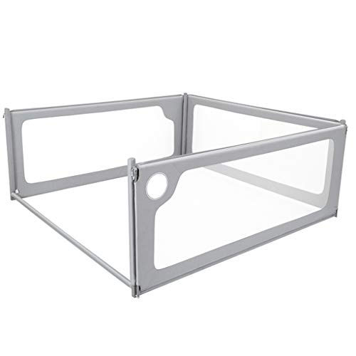 Find Bargain 4 Sides Baby Bed Rail Seamless Universal Vertical Llifting Easy Fit Safety Anti-Fall Ra...