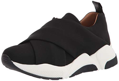 Aquatalia womens Classic Low Top Sneaker, Black, 5 US