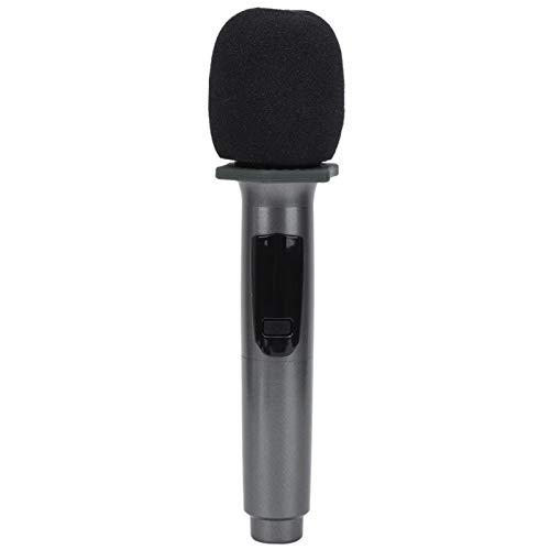 Micrófono de carga, micrófono de karaoke, micrófono inalámbrico profesional, alta calidad, fácil de usar para niños que cantan, caída