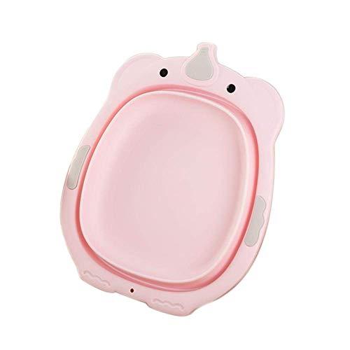 CHUTD Lavabo Plegable para niños, Lavabo elástico portátil, bañera Plegable, Lavabo de Almacenamiento de Agua aplicado