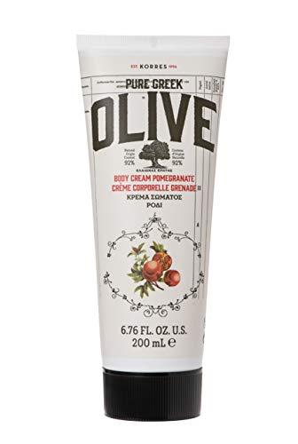 KORRES OLIVE & POMEGRANATE Körpercreme, 200 ml