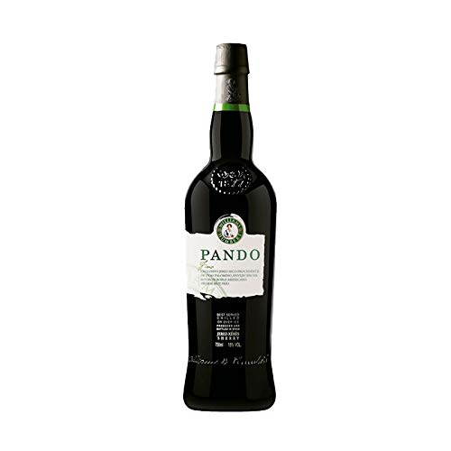 Vino Fino Pando de 75 cl - D.O. Jerez-Sherry - Bodegas Williams & Humbert (Pack de 1 botella)
