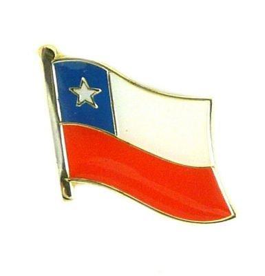Flaggen Pin Chile Pins Anstecknadel Fahne Flagge FLAGGENMAE®