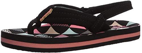 Reef Girl's AHI Sandal, surf Flag, 034 M US Little Kid