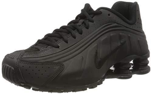 Nike Shox R4 (GS), Zapatillas de Atletismo para Hombre, Negro (Black/Black/Black/White 000), 40 EU