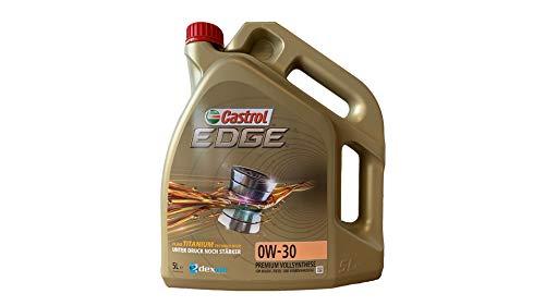 CASTROL EDGE Motoröl ÖL TITANIUM FST 0W30 dexos2 MB 229.31/229.51 - 5L 5 Liter