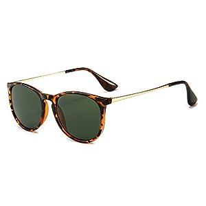 SUNGAIT Gafas de Sol Mujer Hombre Retro Redondas Unisex UV400 Proteccion | DeHippies.com