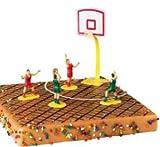 Artipas Figuras Baloncesto para Topping de Tartas - Decoración para Pasteles de Fiesta Deportiva