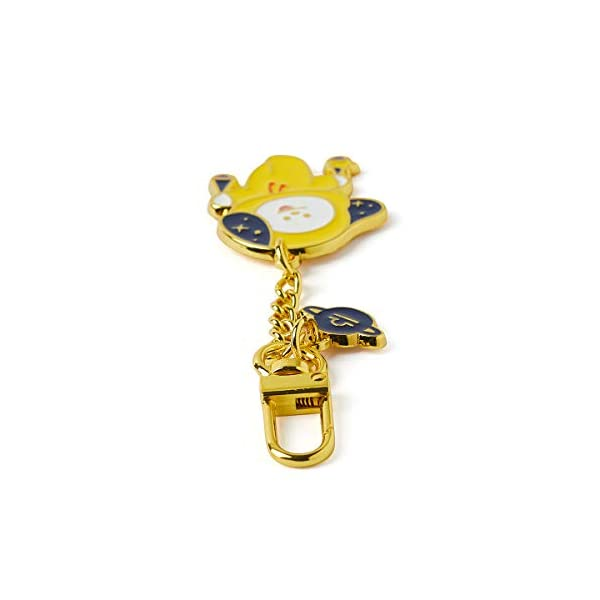 BT21 Official Merchandise by Line Friends – Character Universtar Metal Keyring