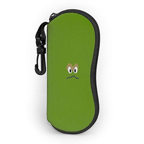 Fouding Sunglasses Soft Case Oscar The Grouch Trash Green Grievance Muppet Toys