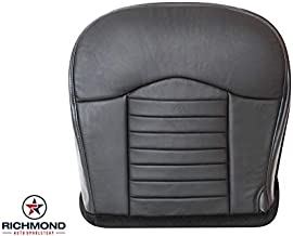 Richmond Auto Upholstery - Driver Side Bottom Replacement Leather Seat Cover, Black (Compatible with 2000 Ford F-150 F150 Harley Davidson Edition)