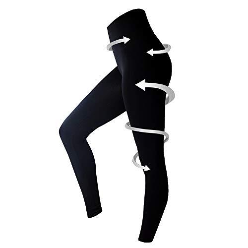 your+ Damen Shapewear Leggings - figurformende Bauch-weg Leggings mit hochsitzendem Bund