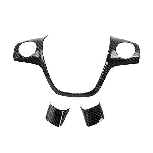 XUNGED Dirección ABS cromados cubierta de rueda de la etiqueta engomada apta del caso for Ford Focus 3 Mk3 2012-2014 / Kuga 2013-2015 Accesorios for automóviles Car Styling