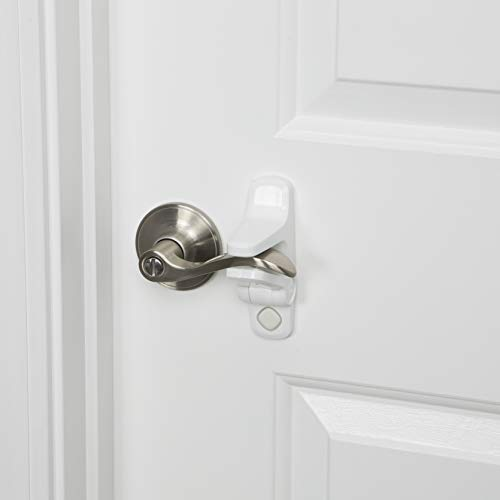 Safety 1st Outsmart Lever Handle Lock 2 Pack, One Size, White
