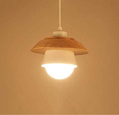 Kandelaar van massief hout voor etude Front Desk Study Single Head Lighting