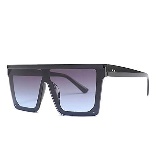 HNYL Gafas de sol Gafas de sol cuadradas de gran tamaño Últimas tend