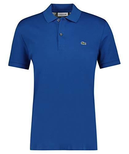 Lacoste Herren Poloshirt Regular Fit Kurzarm blau (51) 7