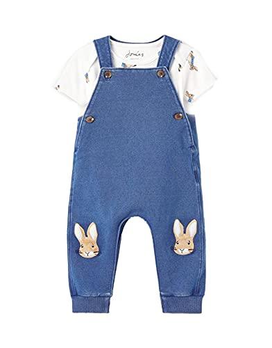 Joules Tom Baby - Mono de bebé con diseño de conejo, azul, 12-18 Meses