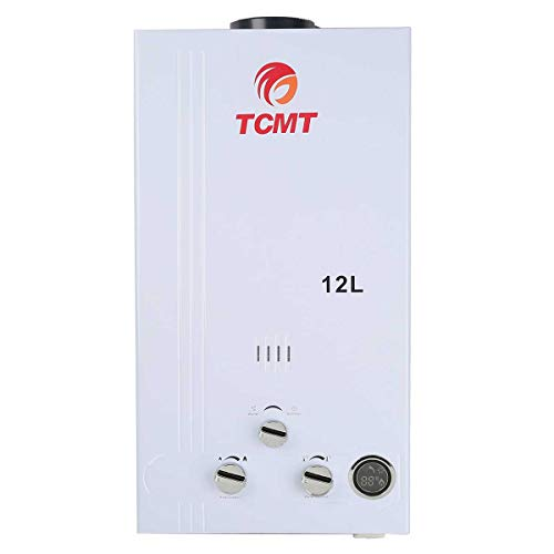 TC-Home Propane Gas 12L Tankless Water Heater LPG Hot Water Heater Boiler House Bath