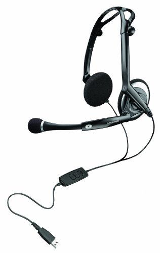 Plantronics Audio 400 DSP faltbares Digital USB-Stereo-Headset