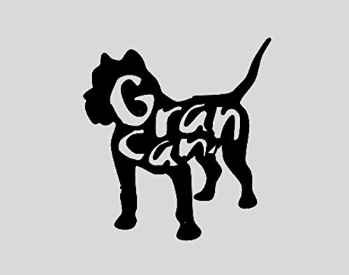 GRAN CANARIA .- NEGRO BRILLO -. 14x14cms. ( PVNB4873.A )
