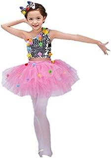(マリア)MARIAHキッズ ワンピース ダンス衣装 子供用 チュールスカート ふわふわ ロリータ ボリューム パニエ キッズ パーティードレス