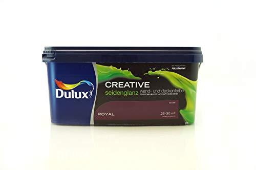 Dulux Creative Wand- und Deckenfarbe seidenglanz 2,5 l (Royal)