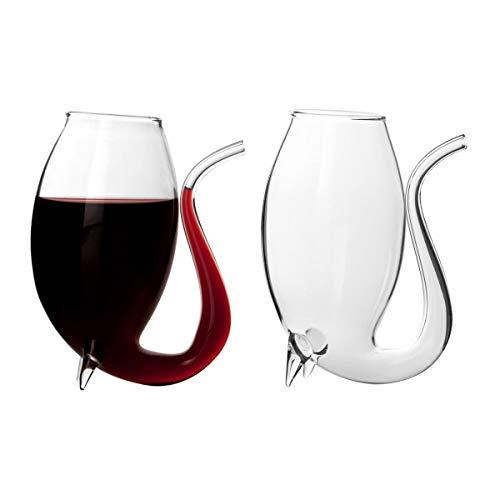 CKB Ltd - Juego de 4 copas de vino (75 ml, 4 unidades)