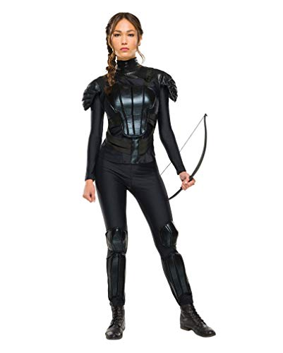 Horror-Shop Katniss Everdeen DLX-Kostüm S