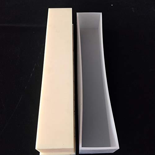 ZXCVB Large Rectangle Mold Handgemachtes BrotSchimmelpilze Silikon -Mold