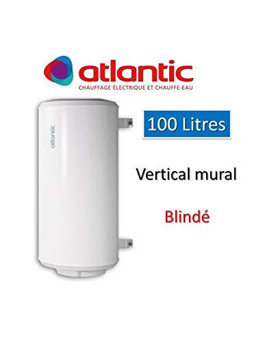 petit un compact Chauffeo 100L chauffe-eau monté verticalement au mur – monophasé 1200 W – Atlantic