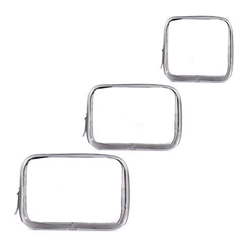 Trasparente PVC Impermeabile Borse da Toilette di Cerniera Trucco Pochette Make Up da...