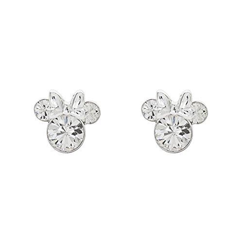 Minnie Mouse Birthstone Stud Earrings by Disney
