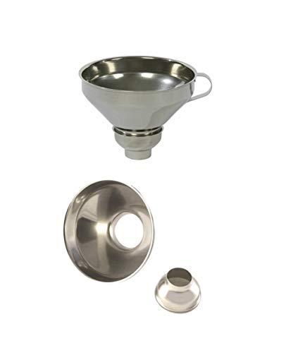 Professional Cooking Imbuto per marmellata Conserve in Acciaio Inox 18/10 Regolabile cm.15x9