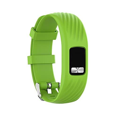 Compatible con Garmin Vivofit4 Bands, correa de silicona de repuesto para Garmin Vivofit4 Activity Tracker, tamaño pequeño/grande, S,