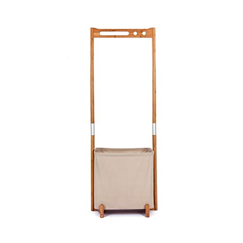 GJX Perchero perchero perchero,Madera de bambú multipropósito,Simple armario estantes armario armario organizador industrial capa árbol