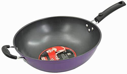 Cast Iron Skillet, Multi-Cuisinière, Poêle à oreille latérale fumée moins, la conductivité thermique rapide, la conception du corps de pot épais, anti-rayures, fait for durer toute une vie lalay