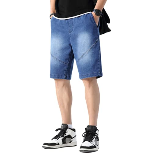 Jubaton Herren Classic Straight Leg Regular Fit Stilvolle Jeans Jeans Sommer Plus Size Trend Oberbekleidung Overalls, Mit Taschen 4XL