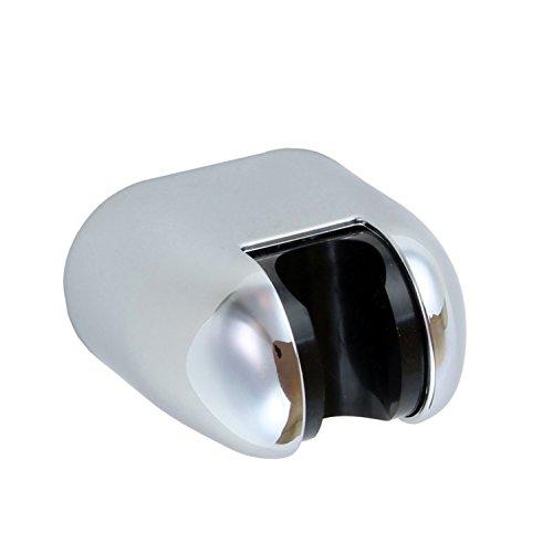 Sanixa JL14SUN Brausehalter - Neigungswinkel verstellbar | ABS verchromt | Wand-Halterung Duschkopf schwenkbar | Wandbefestigung Handbrausen-Halter