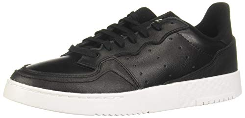 adidas Originals Supercourt, Zapatillas Hombre, Core Black Core Black Footwear White, 42 EU