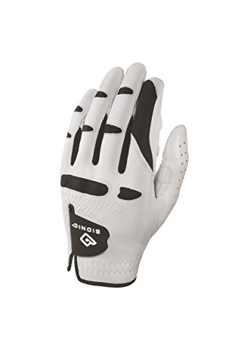 Bionic Gloves –Men's StableGrip Golf Glove W/ Patented Natural Fit...