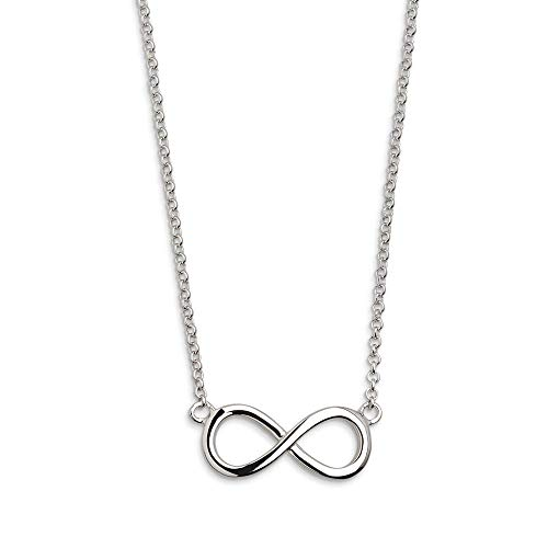 XENOX XS2763 Damen Collier Unendlich Symbolic Power Sterling-Silber 925 Silber 45 cm