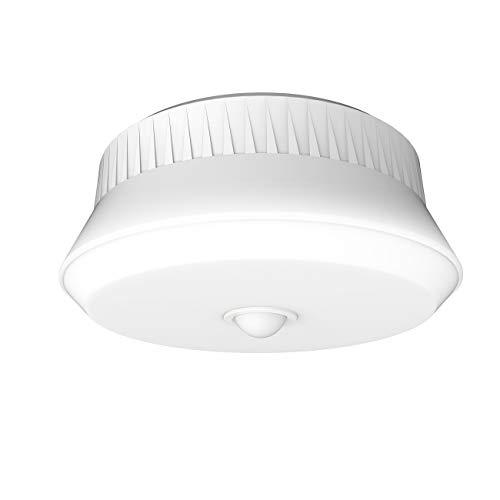 ムサシ RITEX 屋外用センサーシーリングライト リモコン付 「乾電池式」 LED-165 ホワイト