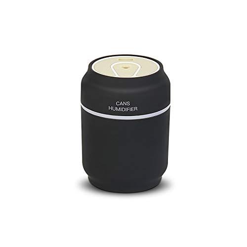 Difusor de aceite esencial 3 en 1 humidificador temporizador y apagado automático sin agua con luces de noche de 7 colores, ventilador USB y luz LED para el hogar, yoga, oficina, spa, coche, color