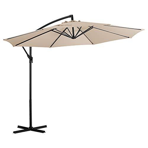 Deponel Offset Umbrella 10ft Patio Cantilever...
